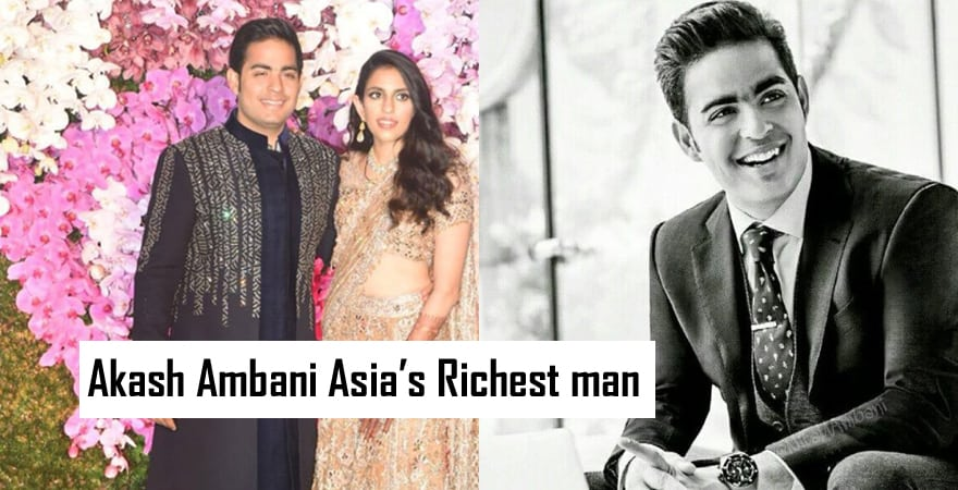 akash ambani biography
