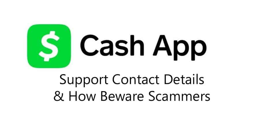 Cash app support phone number